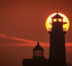 Kap Arkona Lighthouse, Ruegen Island, Germany by Martin Wasilewski