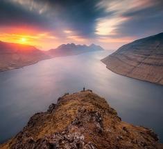 Klakkur, Bordoy, Faroe Islands by Pawel Zygmunt