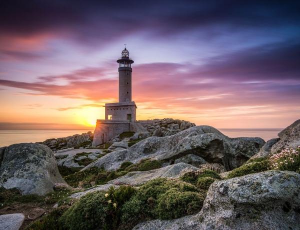 Faro de Punta Nariga, Spain by Onur Cepheli