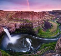 Palouse Falls, Palouse, USA by Raico Rosenberg