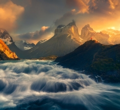 Salto Grande, Torres del Paine NP, Patagonia, Chile by Frannz Morzo