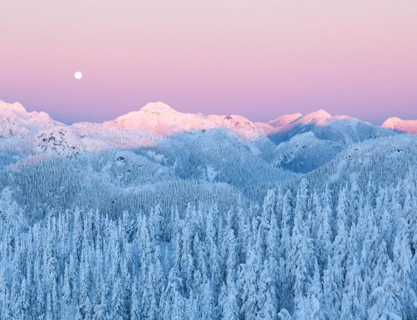 Mount Seymour, British Columbia, Canada by Michael Elkan